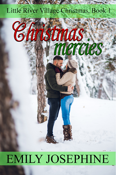 book cover image for the Christian romance novel, christmas mercies